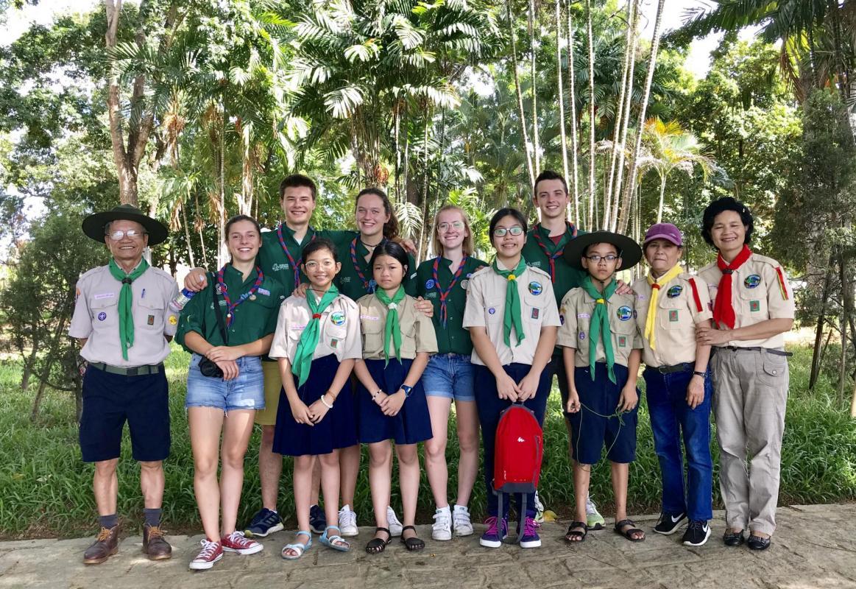 Rencontre Avec les Scouts de Hué